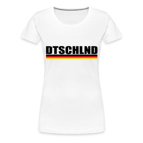 dtschschlnd 2018 - Frauen Premium T-Shirt