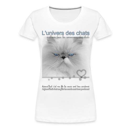 Le fête des chats - T-shirt Premium Femme