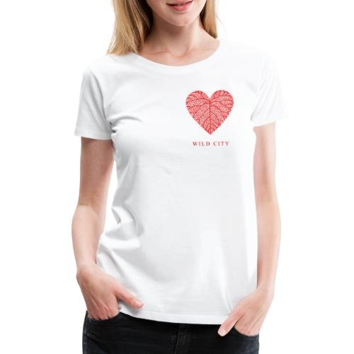 Wild City - red - T-shirt Premium Femme