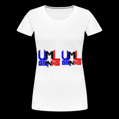 uml gaming Logo - Women's Premium T-Shirt