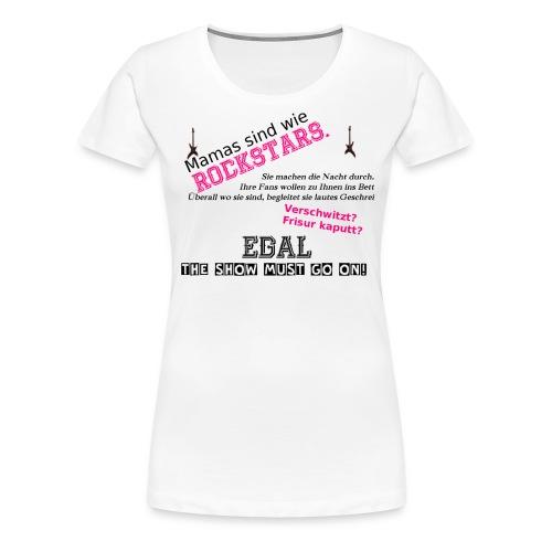 rockmama2 1 png - Frauen Premium T-Shirt