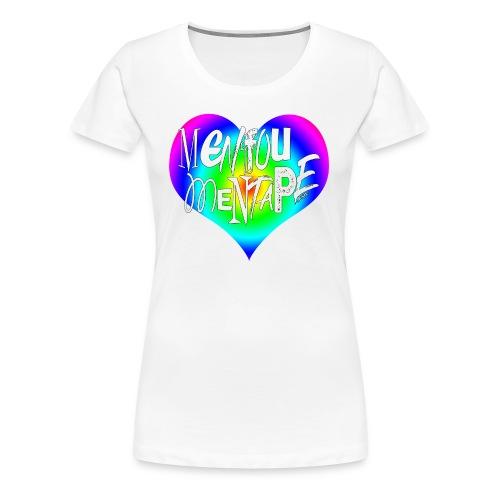 MENFOUMENTAPE Arc en ciel by Alice Kara - T-shirt Premium Femme