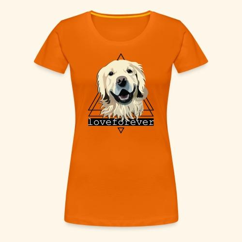 RETRIEVER LOVE FOREVER - Camiseta premium mujer
