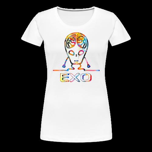 EXO - von außen einwirkend - Frauen Premium T-Shirt