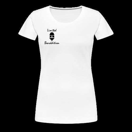 Limited Bearddition - Frauen Premium T-Shirt