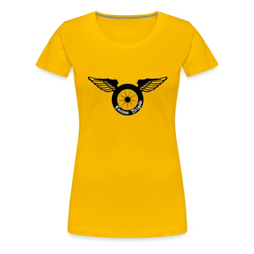roue aile - T-shirt Premium Femme