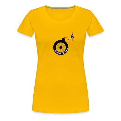 roue bombe - T-shirt Premium Femme