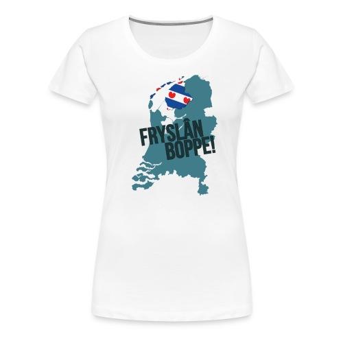 Fryslan Boppe - Vrouwen Premium T-shirt