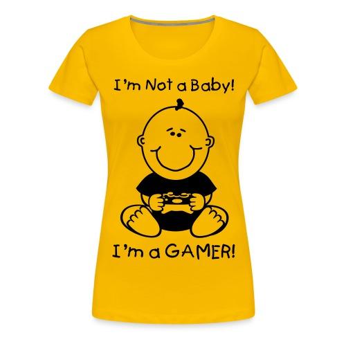 baby gamer 1clr - Women's Premium T-Shirt