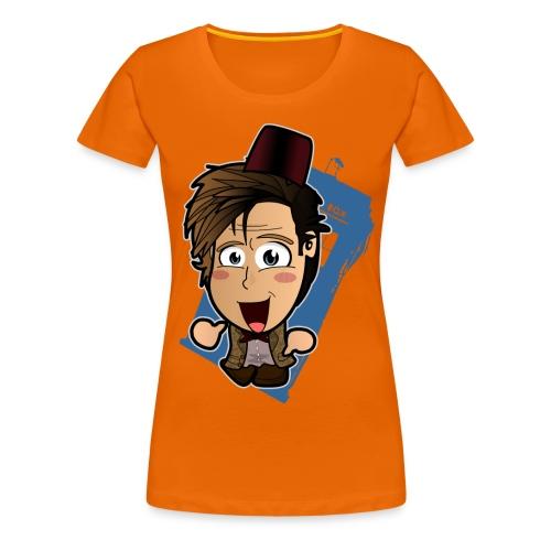 Chibi Doctor - 11th - Women's Premium T-Shirt