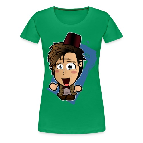 Chibi Doctor - 11th - Women's Premium T-Shirt