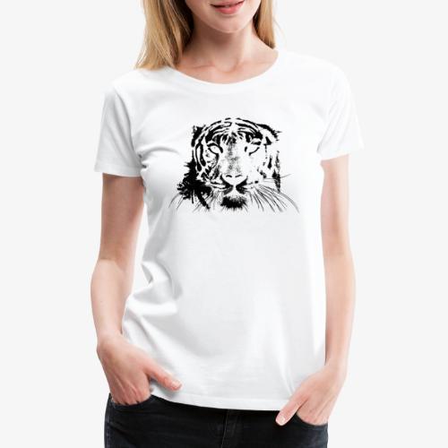 BLACK TIGER - Camiseta premium mujer