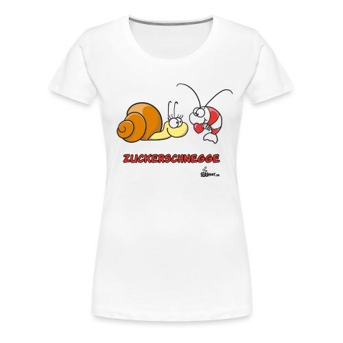 zuckerschnegge - Frauen Premium T-Shirt