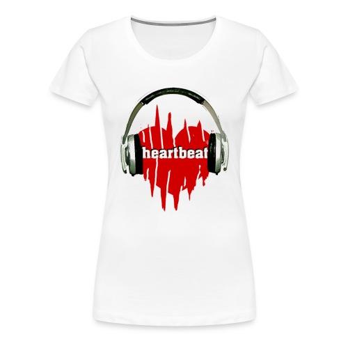 heartbeat 3 - Frauen Premium T-Shirt