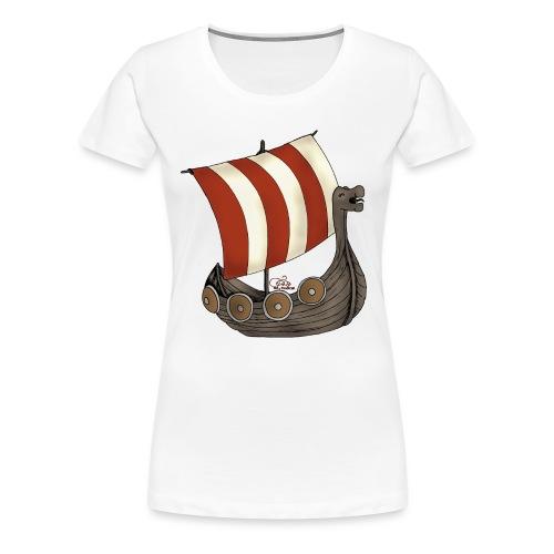 Eriks Winkingerschiff - Frauen Premium T-Shirt