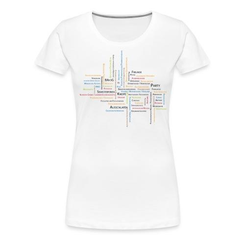 med studium - Frauen Premium T-Shirt