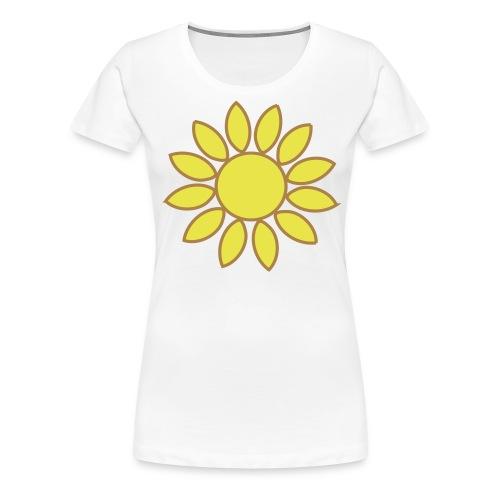 girasole - Maglietta Premium da donna