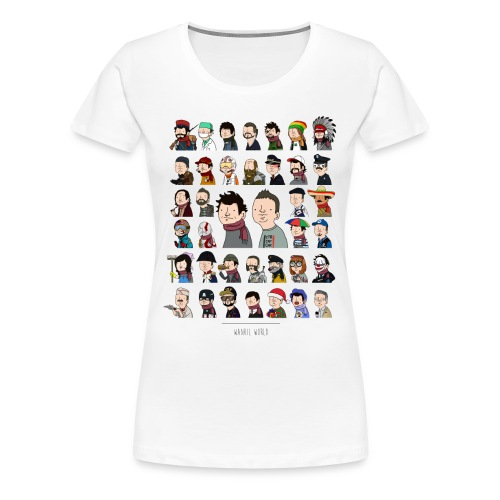 New Wankil World - T-shirt Premium Femme