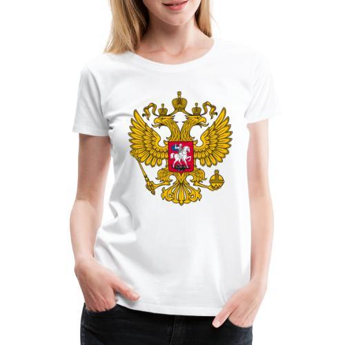 Russland-Wappen / Герб Российской Федерации - Frauen Premium T-Shirt
