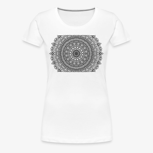 mandala3 - Women's Premium T-Shirt