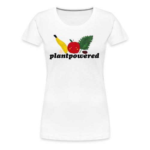Plantpowered Fruit-Pals - Frauen Premium T-Shirt