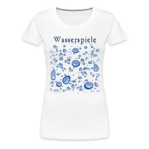 wasserspiele - Frauen Premium T-Shirt