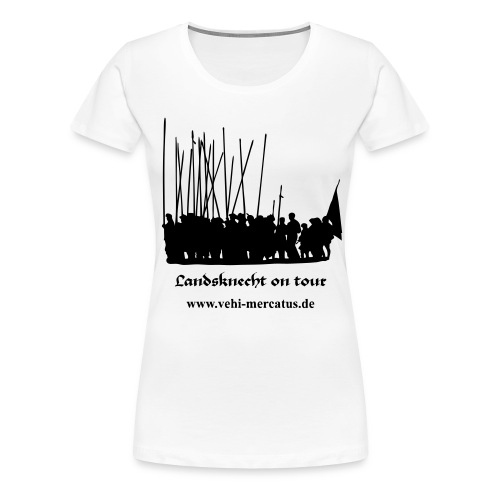 landsknecht on tour - Frauen Premium T-Shirt