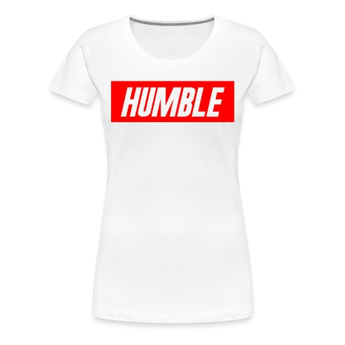 RED Humble Logo - Women's Premium T-Shirt