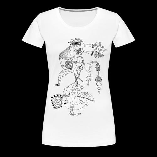subconscientes colectivos II - Camiseta premium mujer