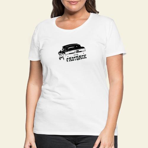 67 Fastback - Dame premium T-shirt