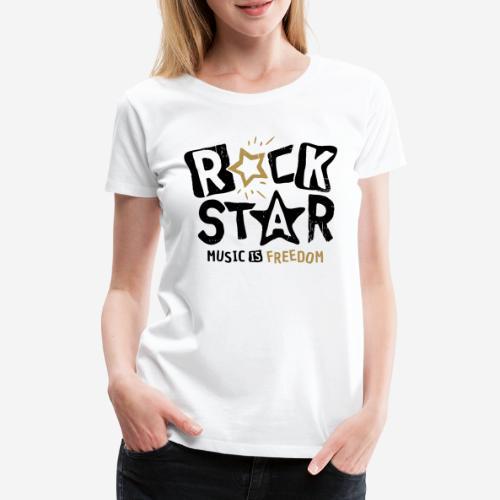 Musik Freiheit - Frauen Premium T-Shirt