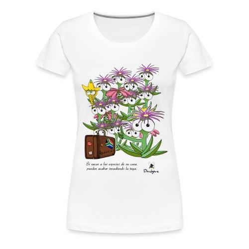 Invasiones biológicas. - Camiseta premium mujer
