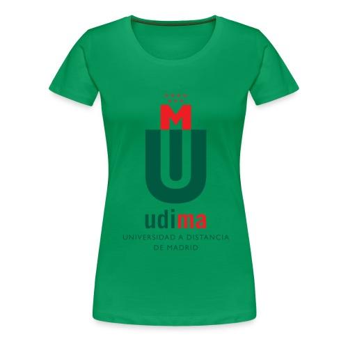 logoudimavertical - Camiseta premium mujer