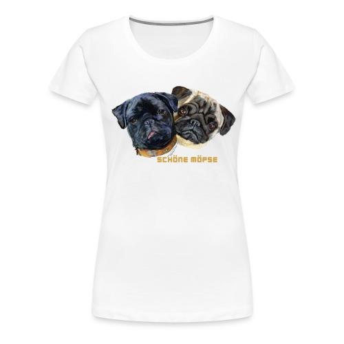 schoene_moepse - Frauen Premium T-Shirt