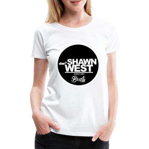 SHAWN WEST BUTTON - Frauen Premium T-Shirt