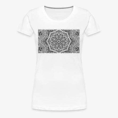 mandala1 - Women's Premium T-Shirt
