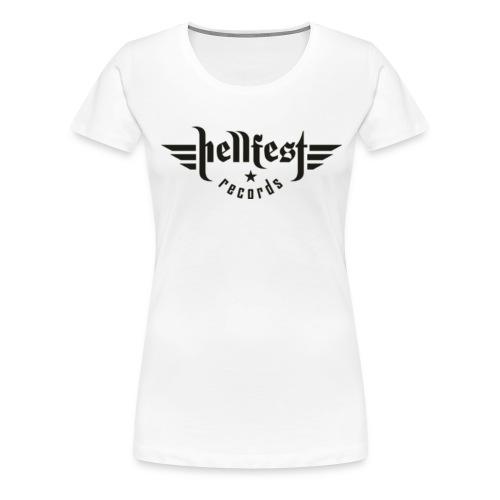 hellfest records logo png - Frauen Premium T-Shirt