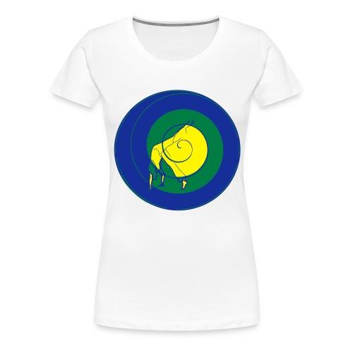 au spiral - Women's Premium T-Shirt