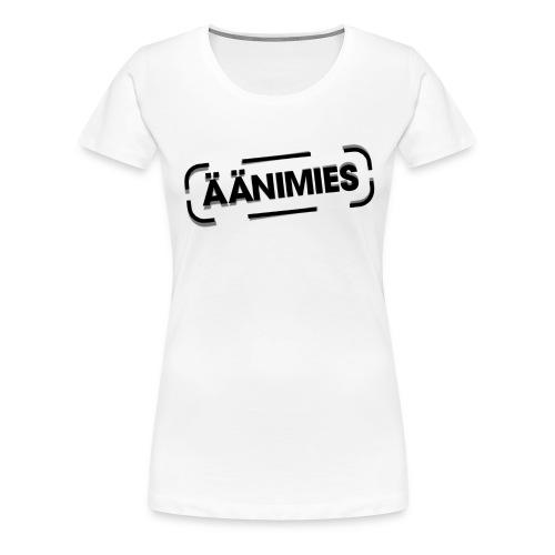 äänimies - Naisten premium t-paita