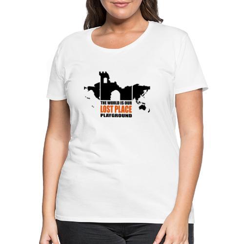 Lost Place - 2colors - 2011 - Frauen Premium T-Shirt