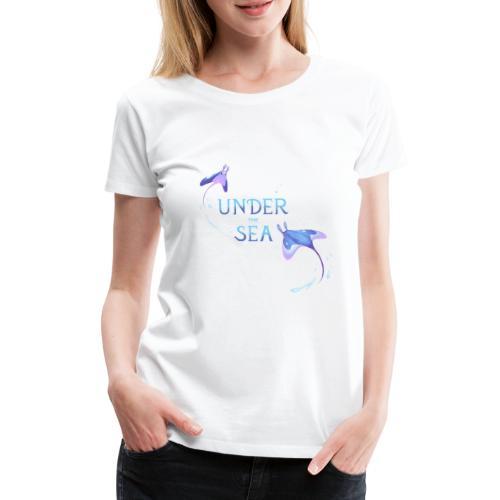 Under the Sea Mantas - T-shirt Premium Femme