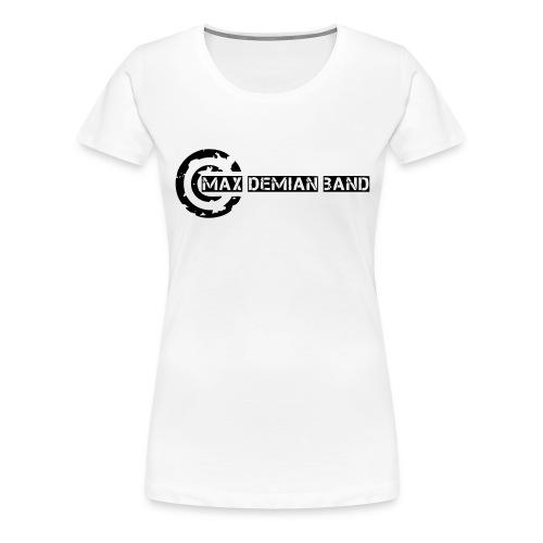 logo shirt deckkraftmaske - Frauen Premium T-Shirt