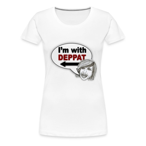 deppat - Frauen Premium T-Shirt