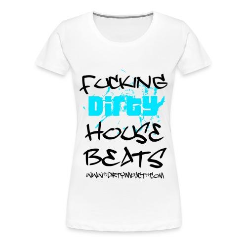 housebeatswhite - Frauen Premium T-Shirt