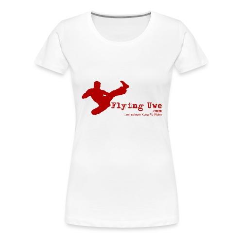 flyinguwe logo vektor kopie - Frauen Premium T-Shirt