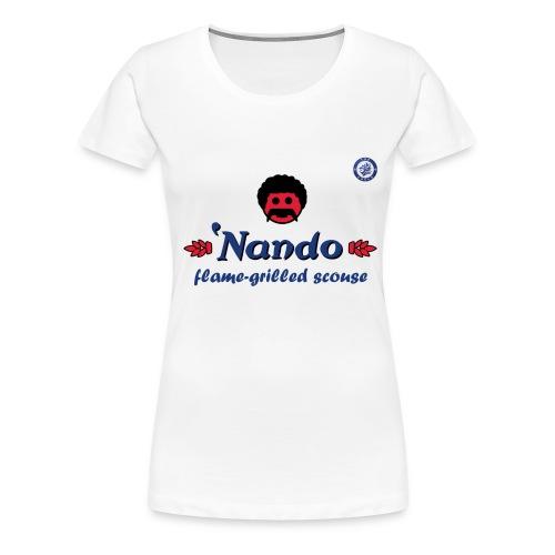 nandosblue - Women's Premium T-Shirt