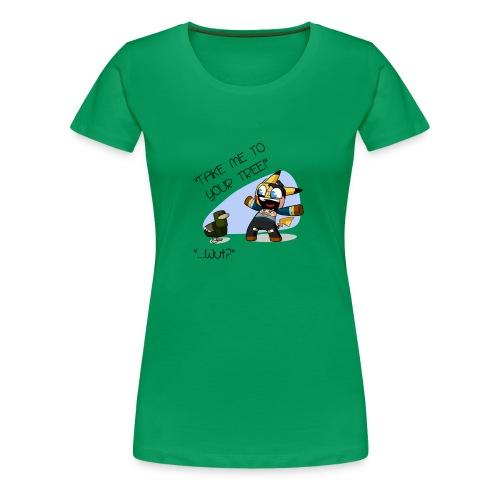12 - Women's Premium T-Shirt