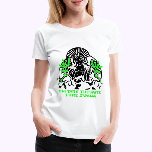 Tara blanca - Camiseta premium mujer