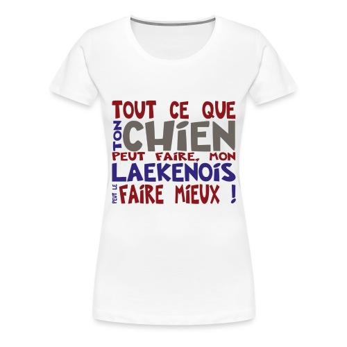 mieux crole - T-shirt Premium Femme
