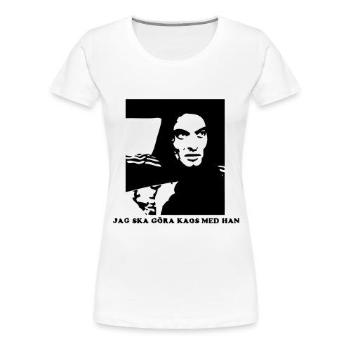 kaos - Premium-T-shirt dam
